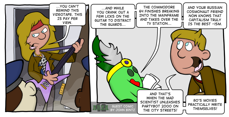 GUEST COMIC: Switcheroo '14