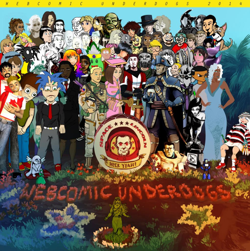 Fourth of July Underdog Group Photo Extravaganza!